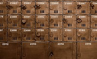 Many mailbox in old style