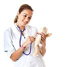 Nurse and Teddy Bear