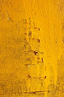 Old yellow wooden surface