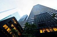 Skyscrapers at Park Avenue, Midtown, Manhattan, New York, USA
