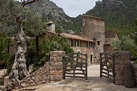 Exterior view of Finca Balitx d´Avall, Tramuntana mountains, Mallorca, Balearic Islands, Spain, Europe