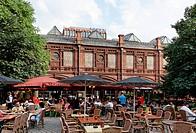 Restaurant at the Hackes Market, Berlin Mitte, Berlin, Germany