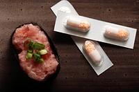 sushi&drug capsules