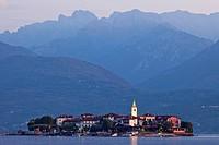 Italy, Piedmont, Lake Maggiore, Stresa, Isola Superiore aka Isola Pescatore