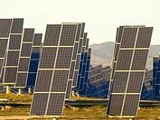 Sun power plant in Navarre