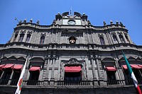 Palacio Municipal, Town Hall, Puebla, Historic Center, Puebla State, Mexico