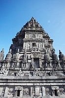 Temple at Prambanan complex, UNESCO World Heritage Site, Java, Indonesia, Southeast Asia, Asia