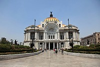 Palacio de Bellas Artes, Concert Hall, Mexico City, Mexico, North America