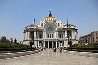 Palacio de Bellas Artes, Concert Hall, Mexico City, Mexico, North America