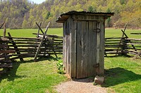 an outhouse in north carolina usa