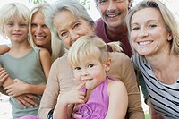 Multi_generation family, portrait