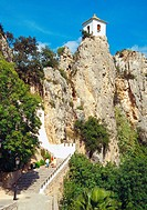 El Castell de Guadalest, Alicante province, Comunidad Valenciana, Spain