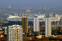 The London Olympic Stadium, 2012 Summer Olympics and Paralympics, Marshgate Lane in Stratford, London, England, UK