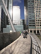 South Quay footbridge Docklands London