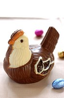 Chocolate hen