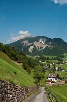 Italy, Trentino_Alto Adige, autonomous province of Bolzano, Dolomites, Val di Funes Funes valley, Santa Maddalena