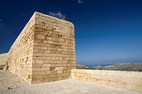 Malta, Gozo Island, Victoria Rabat, the fortress