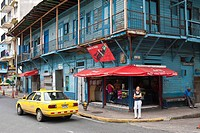 Panama, Panama City, historic town listed as World Heritage by UNESCO, Casco Antiguo, Barrio San Felipe