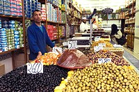 Tunisia, Tunis, daily market downtown