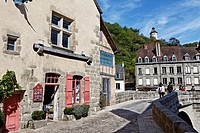 France, Creuse, Aubusson, Medieval bridge, Terrade district