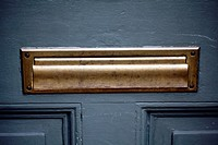 Mail or Letter Slot on a Front Entry Door