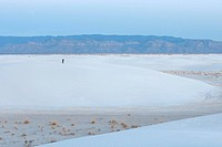 United States, New Mexico, Gypsum Desert, White Sands National Monument, dunes of white gypsum, in Tularosa Basin