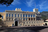 Princes of Grimaldi Palace, Royal Palace, Monaco, Cote d Azur, Mediterranean, Europe