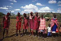 Maasai people, Kenya. The Maasai are a semi_nomadic ethnic group located in Kenya and northern Tanzania.