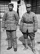 Mao Zedong & Zhu De, photographed together circa 1938_1939.