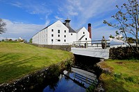 United Kingdom, Scotland, Inner Hebrides, Islay Island, Port Ellen, Lagavulin Scotch whisky distillery