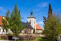 Chateau, Strilky, Kromeriz district, Zlin region, Moravia, Czech Republic, Europe