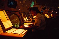 A New York air traffic controller.