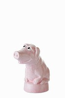 Cartoon character, pink piggy