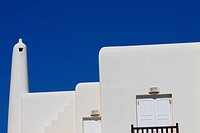 Traditional Cycladic architecture of Mykonos. Greece, Cyclades