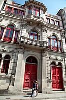 Old Building, Betanzos, La Coruña, Galicia, Spain, Europe.
