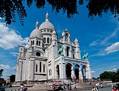 Europe, France, Paris, Sacre Coeur, Montmartre