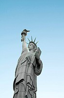 Famous statue of Liberty in New York