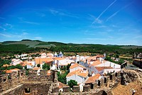 Landscape of Alegrete village, Alentejo region, Portugal.