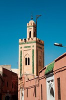 Small Mosque In The Medina Of Marrakech, Morocco
