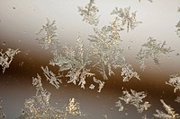 Frost on a window (thumbnail)