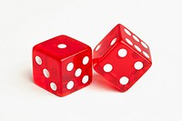Two red dice (thumbnail)