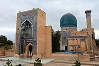 Guri Amir mausoleum of Tamerlane in Samarkand, Uzbekistan