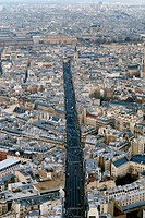 A view of Paris, captured from the Montparnasse Tower
