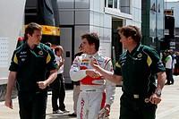 Luiz Razia, Test Drive, British Grand Prix, Silverstone, England