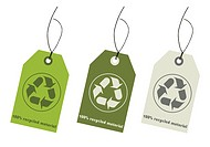 Recycle tags for environmental design