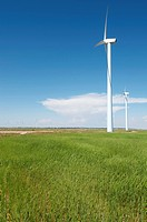 group windmills for renewable electric energy production