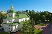 Monastic building within the St Sophia Cathedral Complex, Kiev, Ukraine, Europe