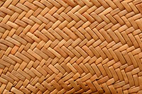Part of a straw hat close up