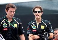 Bruno Senna BRA, Lotus Renault GP R31, Belgian Grand Prix, Francorchamps