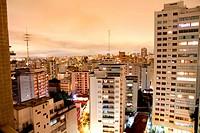 Skyline of Higienopolis, Sao Paulo, Brazil.